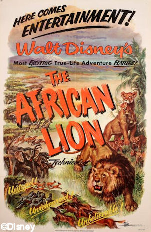 The African Lion Movie Poster
