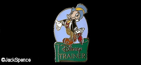 Disney Trainer Pin