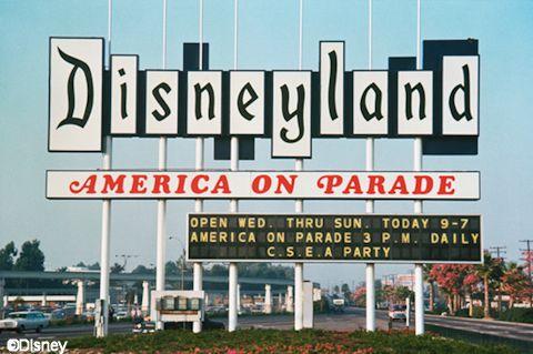 Disneyland Marquee