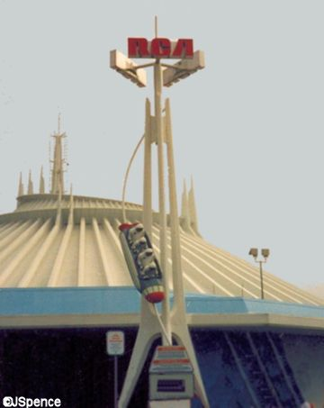RCA Space Mountain Logo