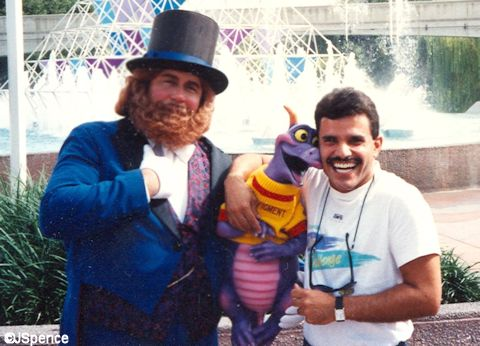 Figment, Dreamfinder, and Eddie