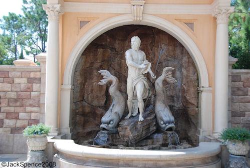Neptune Fountain Italy Epcot