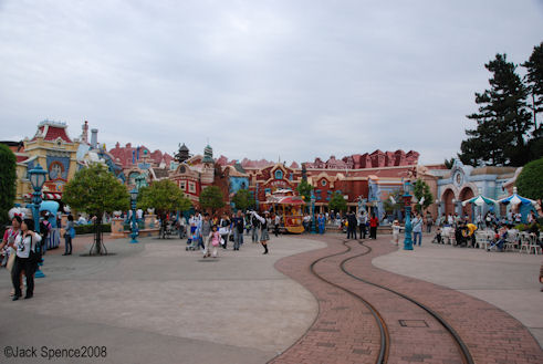 Downtown Toontown  Tokyo Disneyland