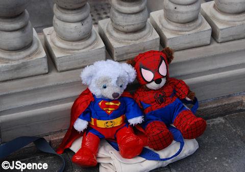 Duffy in Costume