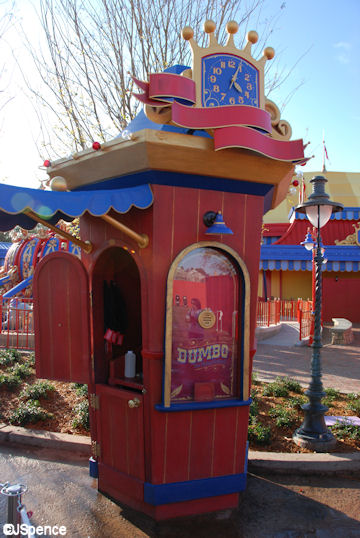 Dumbo Ticket Booth