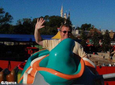 Jack Riding Dumbo
