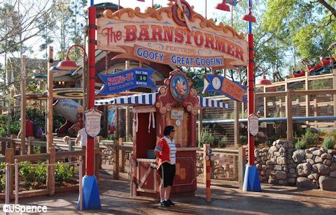 Barnstormer Entrance
