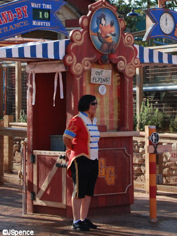 Barnstormer Ticket Booth