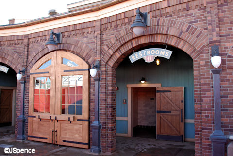 Fantasyland/Storybook Circus Train Station