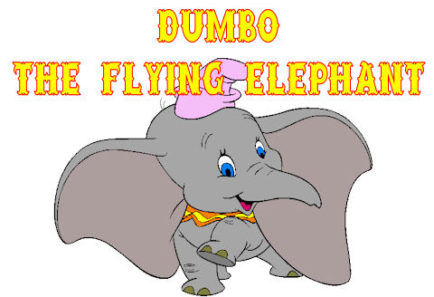 Dumbo Elephant Drawing Dumbo The Flying Elephant