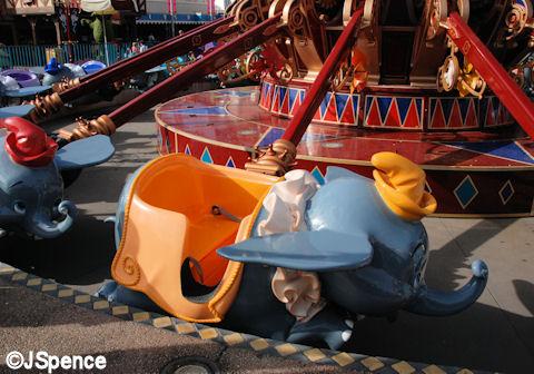 Dumbo with Orange Trimmings