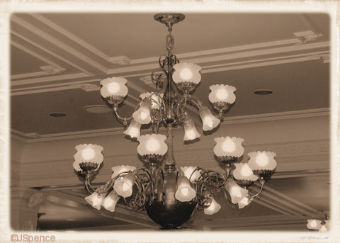 Gas-Electric Chandeliers