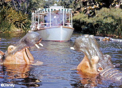 Disneyland's Jungle Cruise