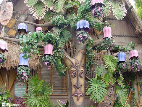 Disneyland Preshow Tiki Gods