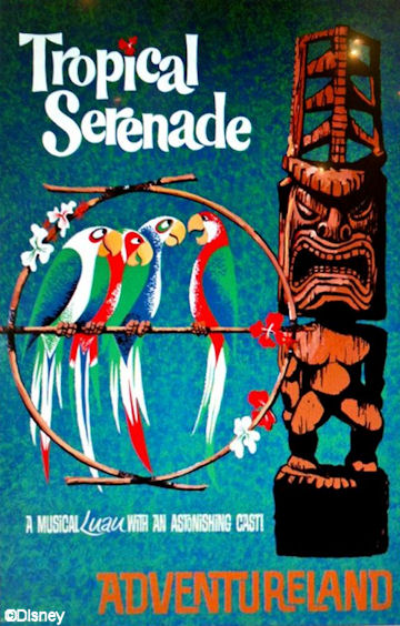 Tropical Serenade Poster