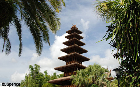 Tropical Serenade Pagoda