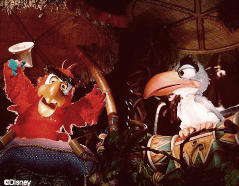 Zazu and Iago