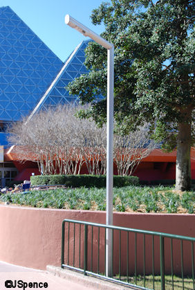 Future World West Lamp Post