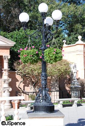 Italy Lamp Post