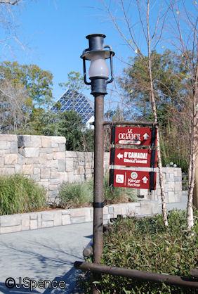 Canada Lamp Post