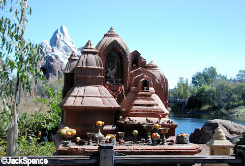Everest Temple in Animal Kingdom