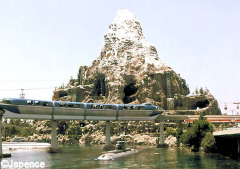 Monorail, Submarine, and Matterhorn