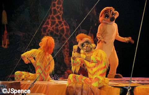 The Festival of the Lion King Show