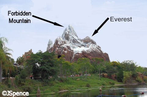 Everest and Forbidden Mountain