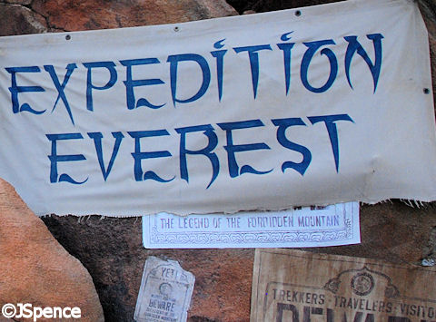 Expedition Everest - Legend of the Forbidden Mountain Sign