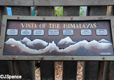 Mountain Range Plaque