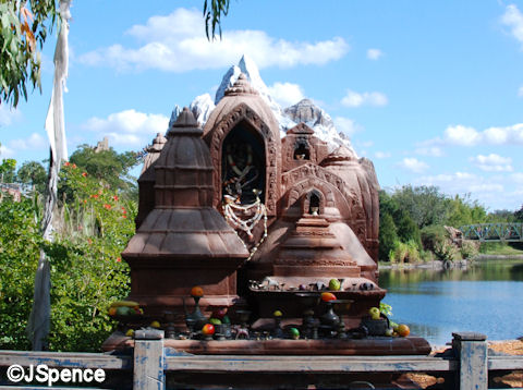 Forbidden Mountain Temple