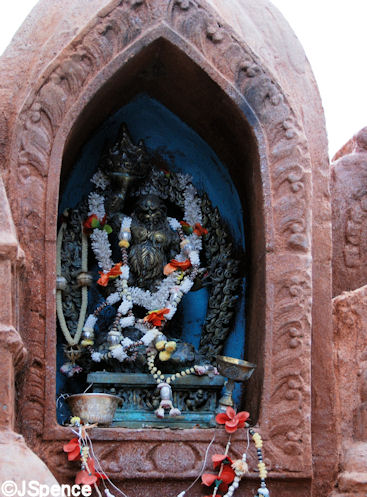 Forbidden Mountain Temple Yeti