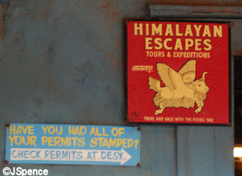 Himalayan Escapes - Tours and Expeditions Sign