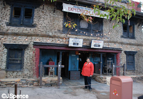 Booking Office Exterior