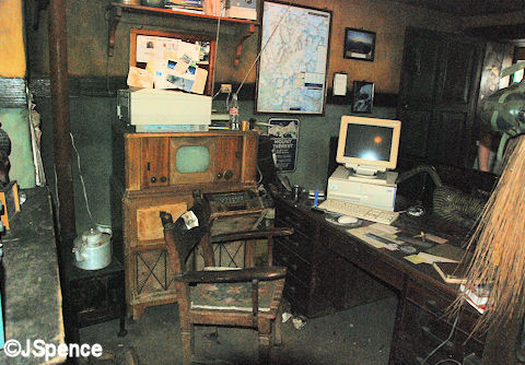 Booking Office Interior