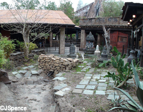 Outside the Booking Office