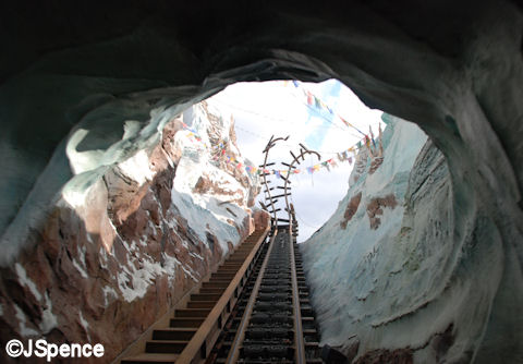 Emerging from the Ice Cave