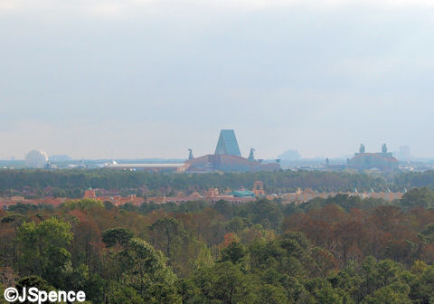 View from the top of Everest