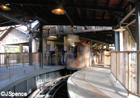 Back at Serka Zong Station