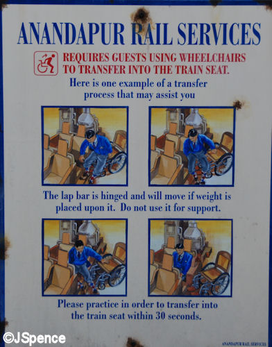 Special Needs Seat Instructions