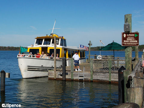 Boat to the Magic Kingdom