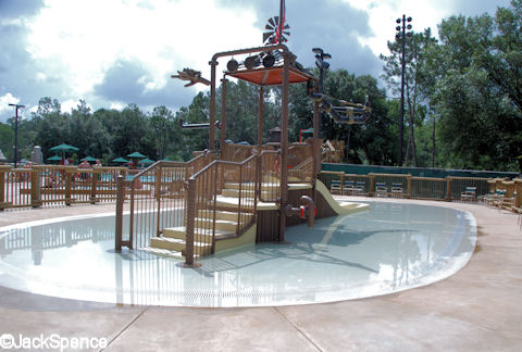 Fort Wilderness Kiddy Pool