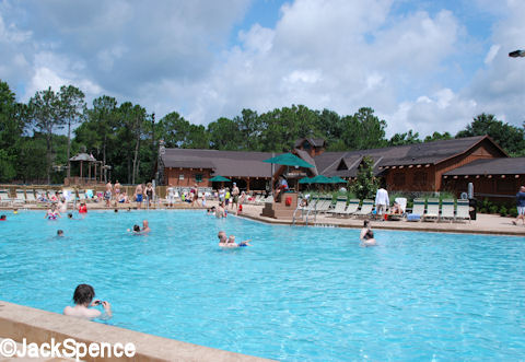Fort Wilderness Swimming Pool