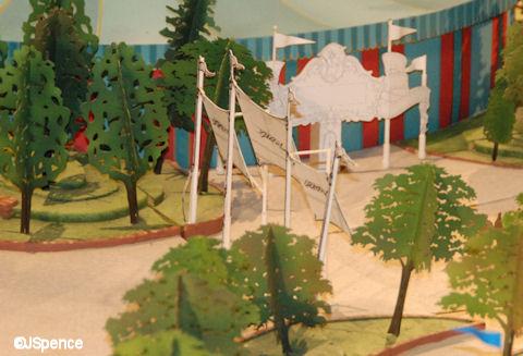 Storybook Circus Entrance