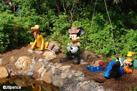 Disney Statues