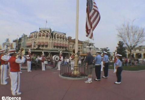 Band Around the Flagpole