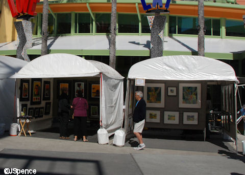 Tent - Booths
