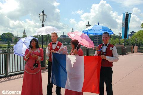 France Pavilion Cast Members