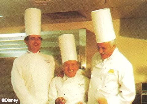 Paul Bocuse, Roger Vergé, and Gaston Lenôtre