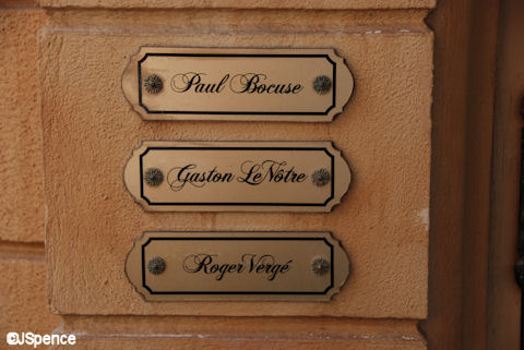 Chefs' Name Plates